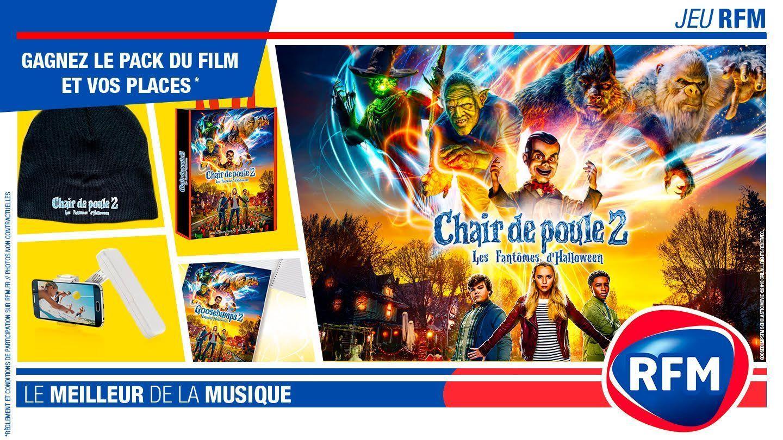 Chair De Poule 2 Gagnez Vos Places De Cinema Et Votre Pack