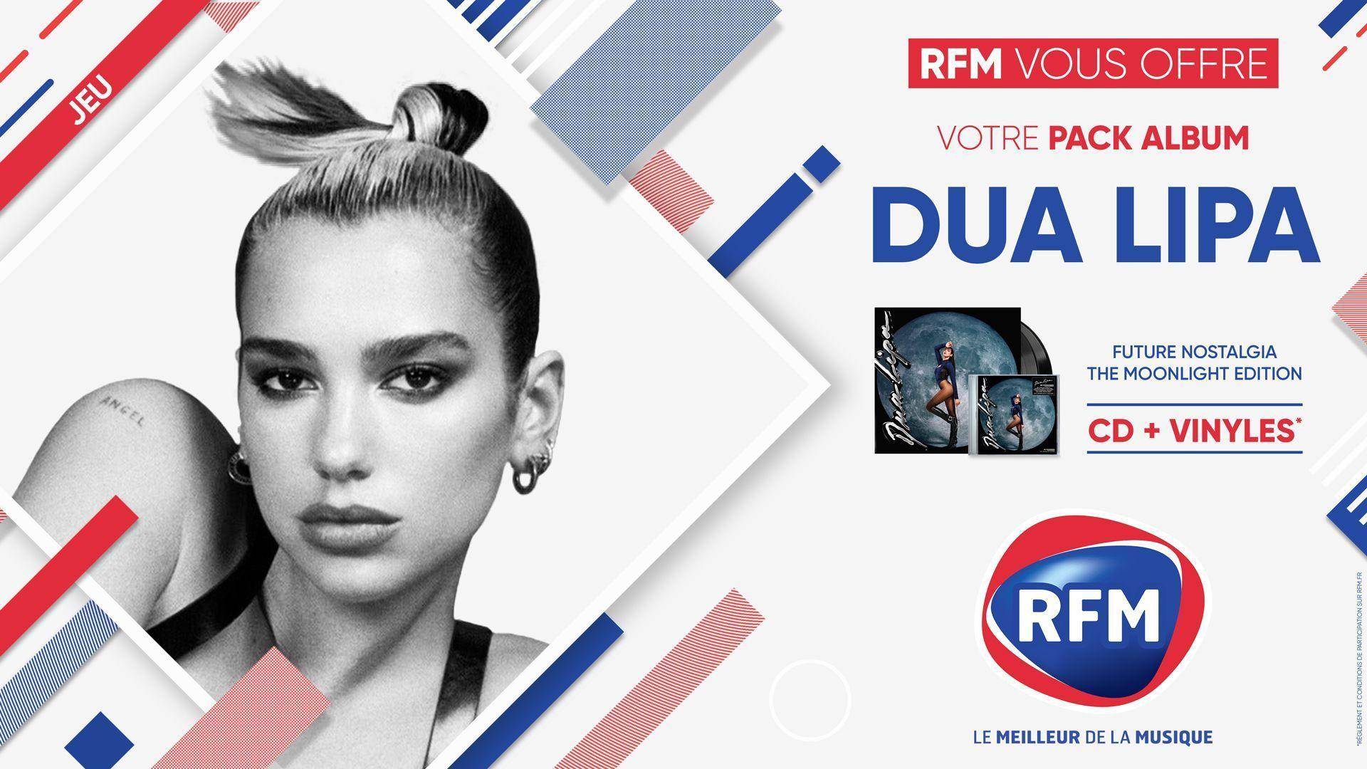 forum concours RFM-vous-offre-votre-pack-album-Dua-Lipa