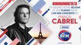 Ecoutez le 16/20 et gagnez votre séjour et vos places pour le concert de Francis Cabrel