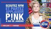 Écoutez RFM et partez applaudir P!NK à Rio de Janeiro !