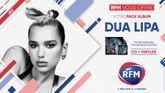 RFM vous offre votre pack album Dua Lipa !