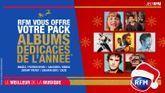 RFM vous offre votre pack albums dédicacés de l'année