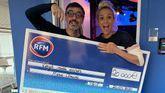 Ce matin, notre auditrice Marie-Claude a gagné 20.000 euros en direct !