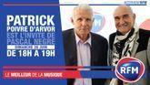 Dimanche 28 juin, Patrick Poivre d'Arvor est l'invité de Pascal Nègre
