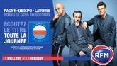 Florent Pagny, Pascal Obispo et Marc Lavoine chantent à l'unisson «Pour les gens du secours»
