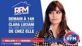 RFM Live @ Home : A 14h, retrouvez un live exclusif de Clara Luciani de chez elle !