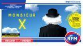 RFM partenaire de la pièce «Monsieur X» avec Pierre Richard