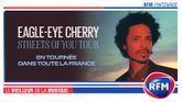 RFM partenaire de la tournée française d'Eagle-Eye Cherry !