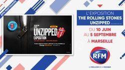 RFM partenaire de l'exposition The Rolling Stones | UNZIPPED* à l'Orange Vélodrome de Marseille !