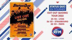 RFM partenaire de la tournée française 2022 de STATUS QUO !