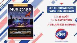 RFM partenaire des musicales du parc des Oiseaux 2021 !