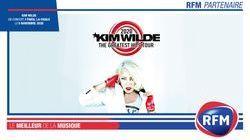 RFM partenaire du concert de Kim Wilde le 5 novembre 2020 à La Cigale de Paris !
