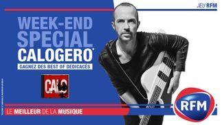 Calogero : ce week-end RFM vous offre son triple best-of dédicacé !
