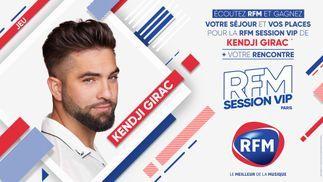 Ecoutez RFM et gagnez votre séjour et vos places pour la RFM Session VIP de Kendji Girac !