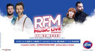 Gagnez votre séjour et vos places pour votre RFM Music Live spécial Strasbourg Mon amour !