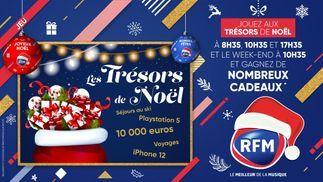 Les Trésors de Noël: gagnez les plus beaux cadeaux avec RFM !