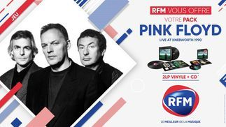 RFM vous offre pack Pink Floyd «Live at Knebworth 1990»