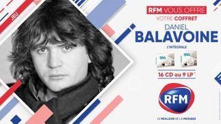 RFM vous offre votre coffret de Daniel Balavoine !