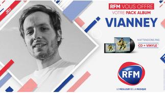 RFM vous offre votre pack album Vianney