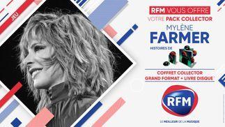 RFM vous offre votre pack collector de Mylène Farmer