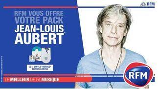 RFM vous offre votre pack Jean-Louis Aubert!