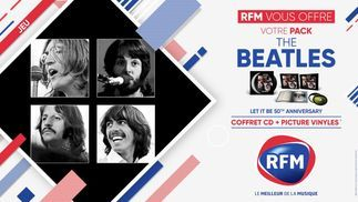 RFM vous offre votre pack The Beatles !