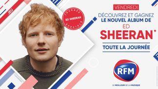 Vendredi 29 octobre : Gagnez le nouvel album d'Ed Sheeran !