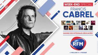 Weekend spécial Francis Cabrel: RFM vous offre des intégrales dédicacées