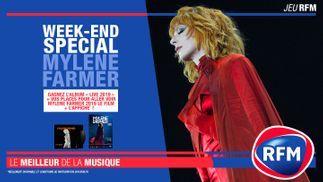 Weekend spécial Mylène Farmer sur RFM