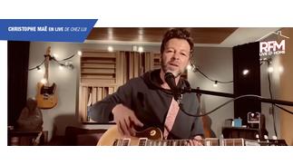 RFM Live @ Home : Christophe Maé interprète «Casting» de chez lui !