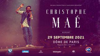 Christophe Maé : son concert au Dôme de Paris se tiendra le 29 septembre 2021 !