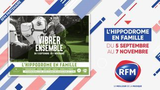 L'hippodrome en famille : découvrez les 14 dates en partenariat avec RFM !