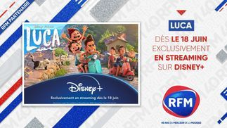 Luca : découvrez le dernier né des studios Pixar sur Disney+ avec RFM !