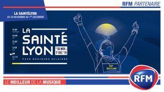 RFM partenaire de La SaintéLyon 2019 !