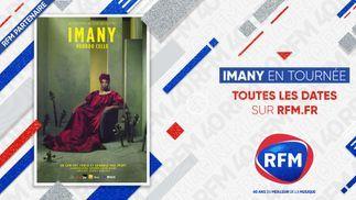 RFM partenaire de la tournée d'Imany !