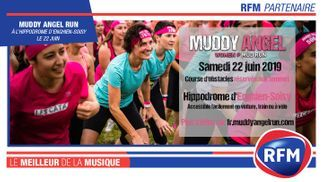 RFM partenaire de la Muddy Angel Run