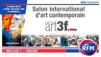RFM partenaire du salon international d'art contemporain (art3f)