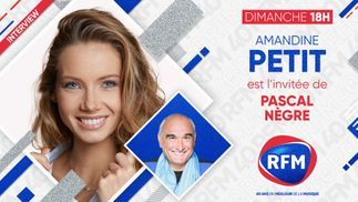 Découvrez l'interview d'Amandine Petit au micro de Pascal Nègre